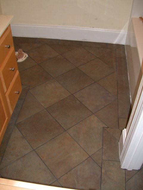 Bathroom tile flooring kris allen daily Floor tile design ideas for small bathrooms