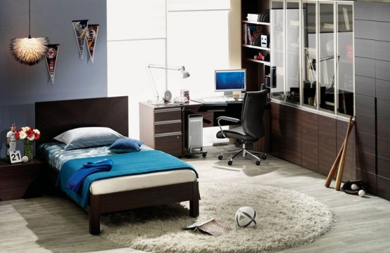 Small single beds are the ideal for compact bedrooms the more petite  natured person and young. Modern Single Bedroom Designs