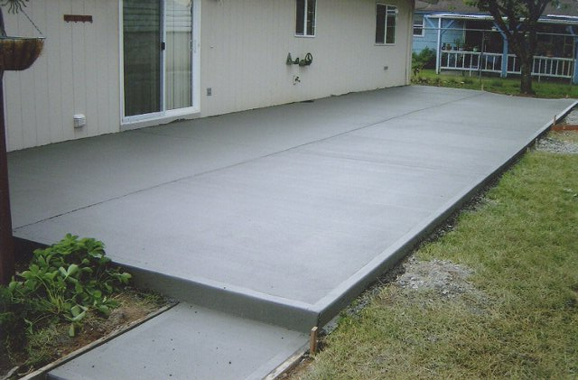 Concrete Patio Apply Sealer Kris Allen Daily