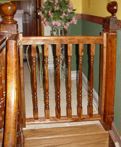 Wooden Stair Gates Safety First Kris Allen Daily