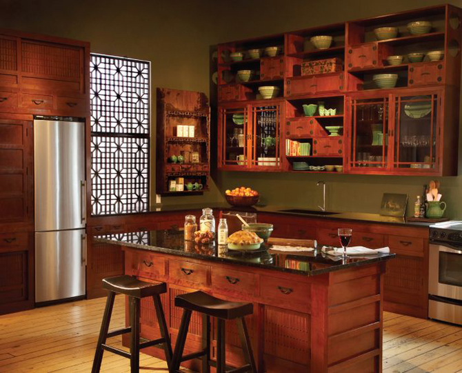 Semi Custom Kitchen Cabinets: Custom Kitchen Cabinets