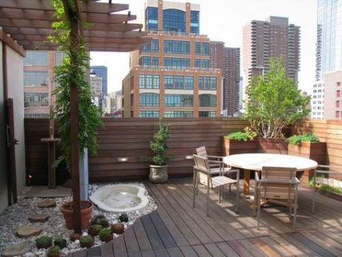 Small patio designs: Tips to make it look bigger | Kris ... on Small Patio Design Ideas id=43782