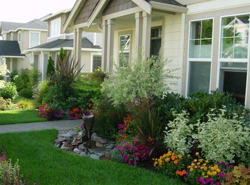 examples of front yard landscaping